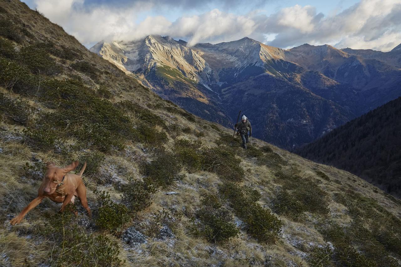 Auf Gamsjagd in den Salzburger Bergen